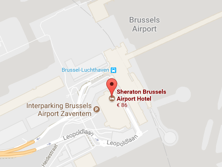 locatie scheraton brussels airport hotel